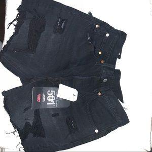 Brand new levis 501 shorts